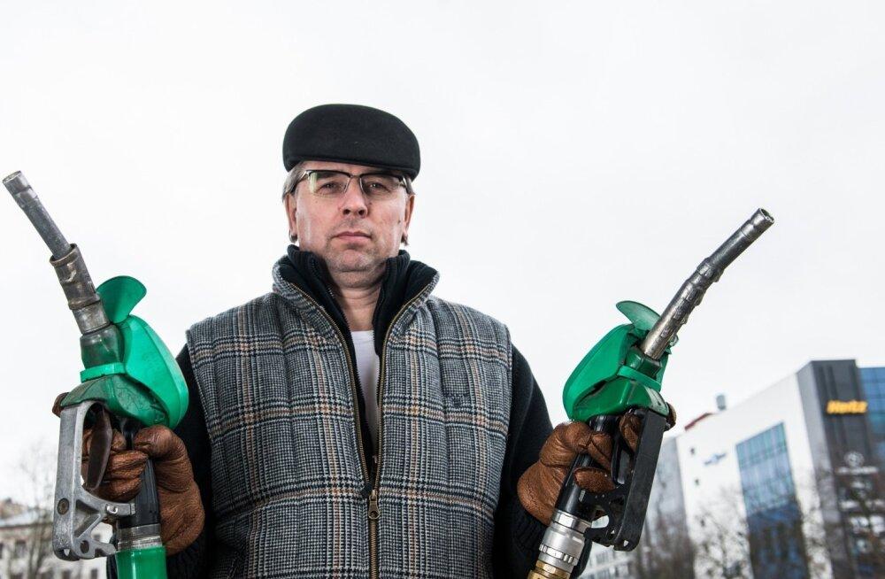 """""""Eesti spordil on kütet juurde vaja,"""" leiab Eesti olümpiakomitee presidenditooli sihtiv Jaanus Kriisk."""
