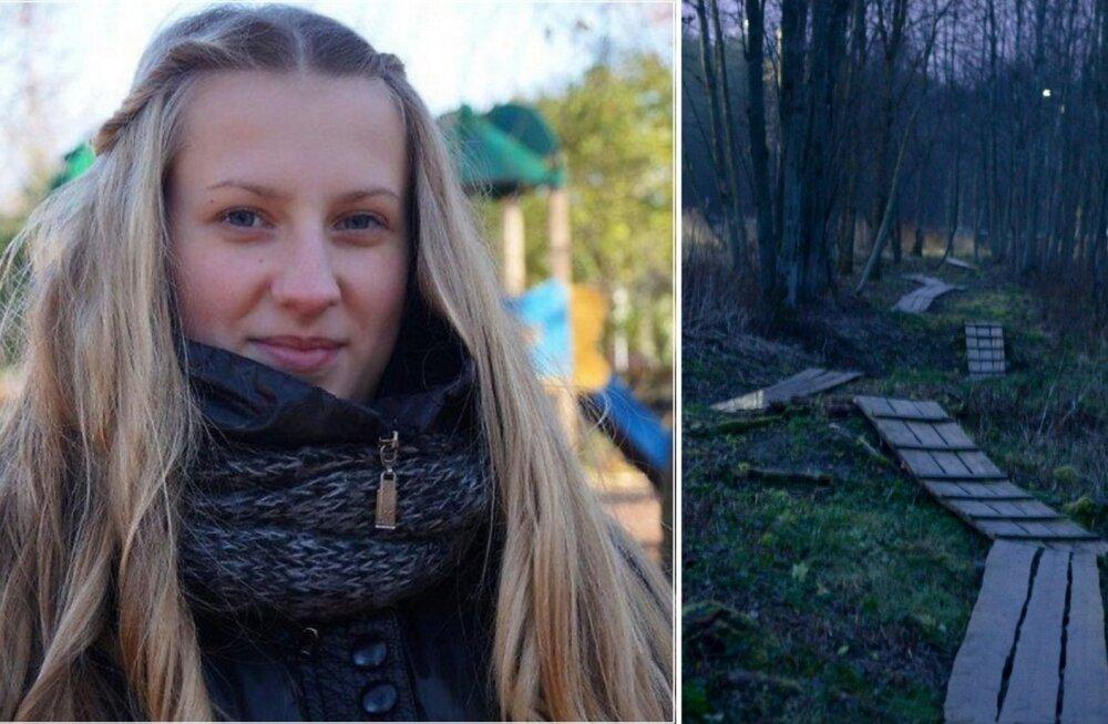 14-aastase Darja surnukeha leiti Narva metsatukast.