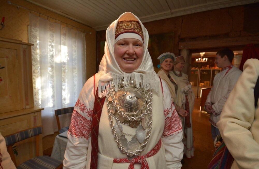 Kauksi Ülle soomeugri kultuuripealinna pidustustel Obinitsas 2015. aastal