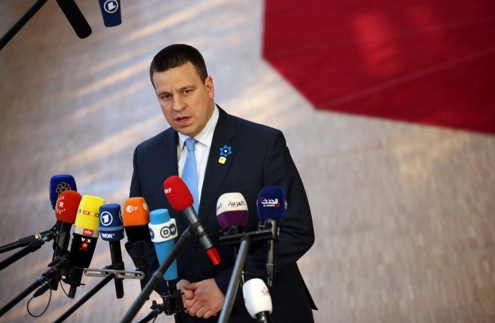 Jüri Ratas Euroopa Ülemkogul