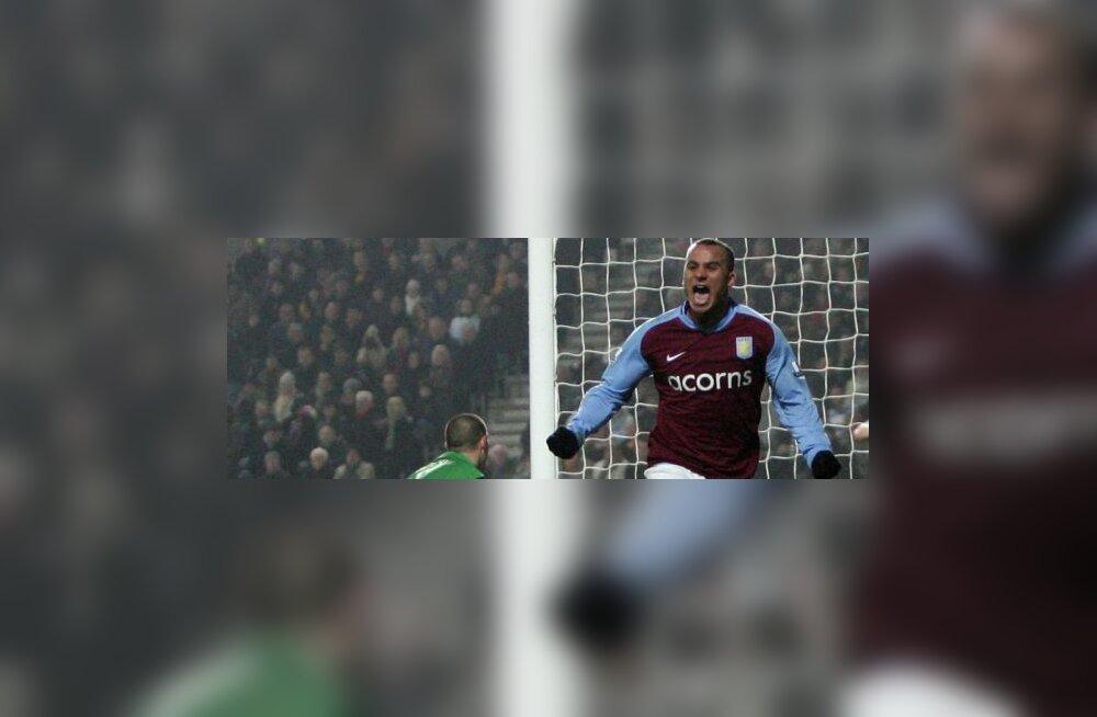 Aston Villa ründaja Gabriel Agbonlahor