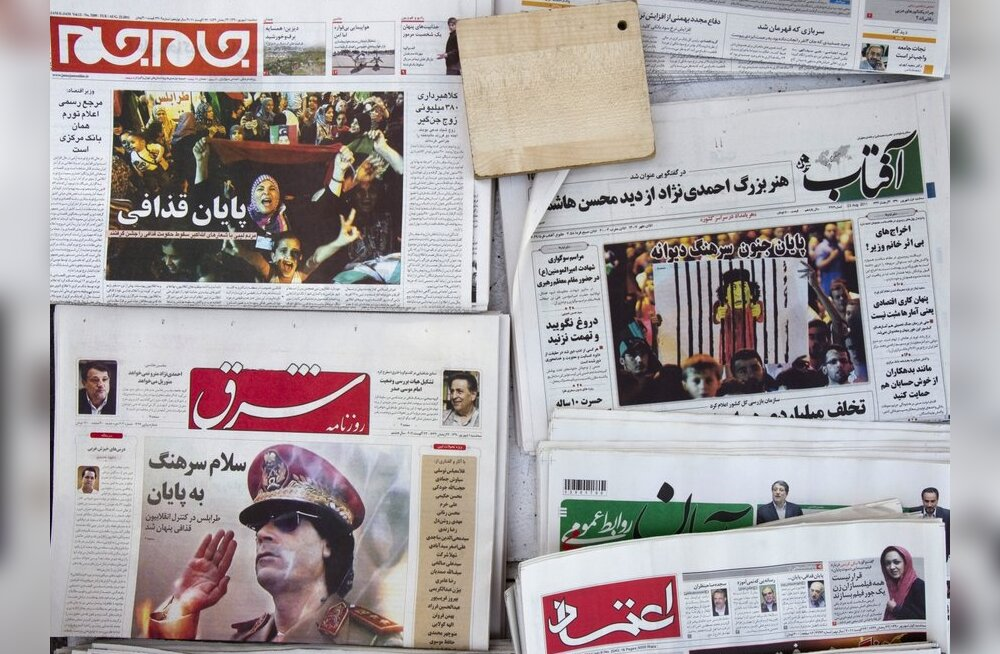 Tripoli kesklinnas puhkesid taas lahingud