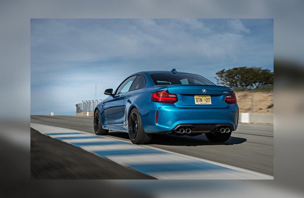 BMW M2: eheda sõidurõõmu allikas on üks sinine paharet