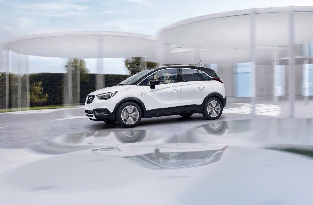 Kupeeliku joonega Crossland X tuleb täiendama Opeli väikeste krossoverite rivi
