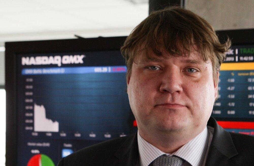 Tallinna börsi pikaaegne juht paneb ameti maha