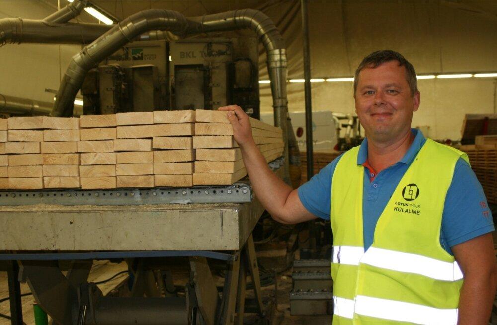 Rein Paloson soovitab ehitistes igal juhul kasutada tehases puidukaitsevahendiga töödeldud puitu