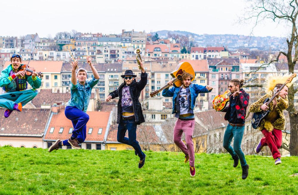 Energiline kiir-folk-friik-punkbänd Bohemian Betyars Ungarist