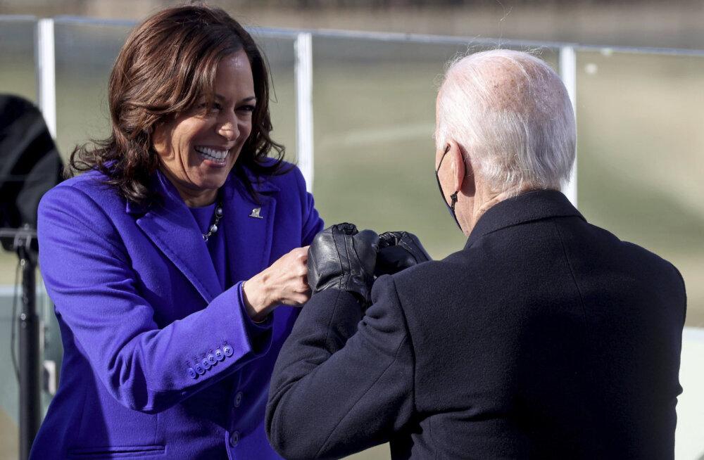 Kamala Harris ja Joe Biden