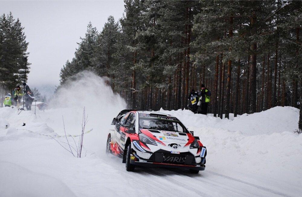 Ott Tänaku ja Martrin Järveoja kiirus oli vägev, kuid punktisaak jäi olude sunnil kasinaks.