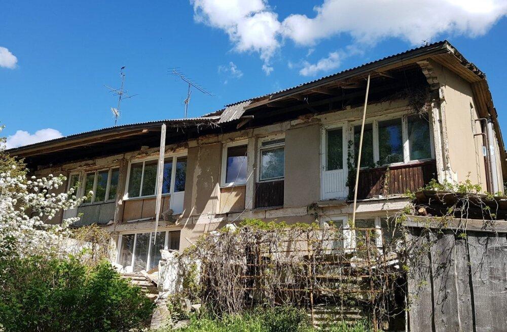 TTJA начал производство по факту обрушения балконов в многоквартирном доме