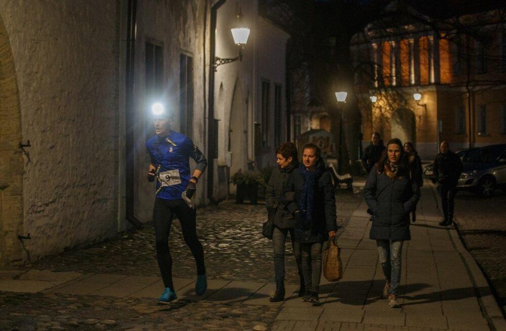 Öine orienteerumisvõistlus tekitas kaaskodanikes imestust.