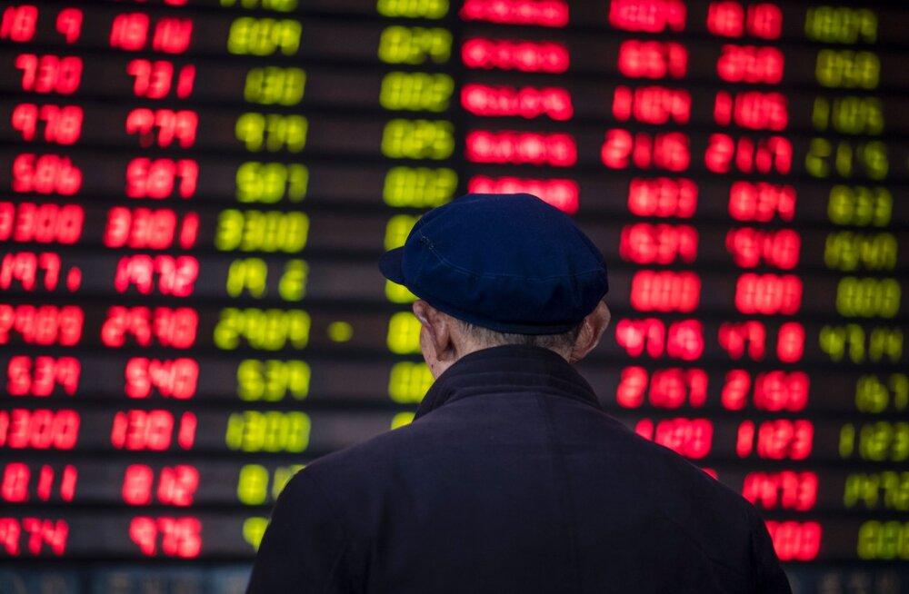 Aasia aktsiaturud on täna verised