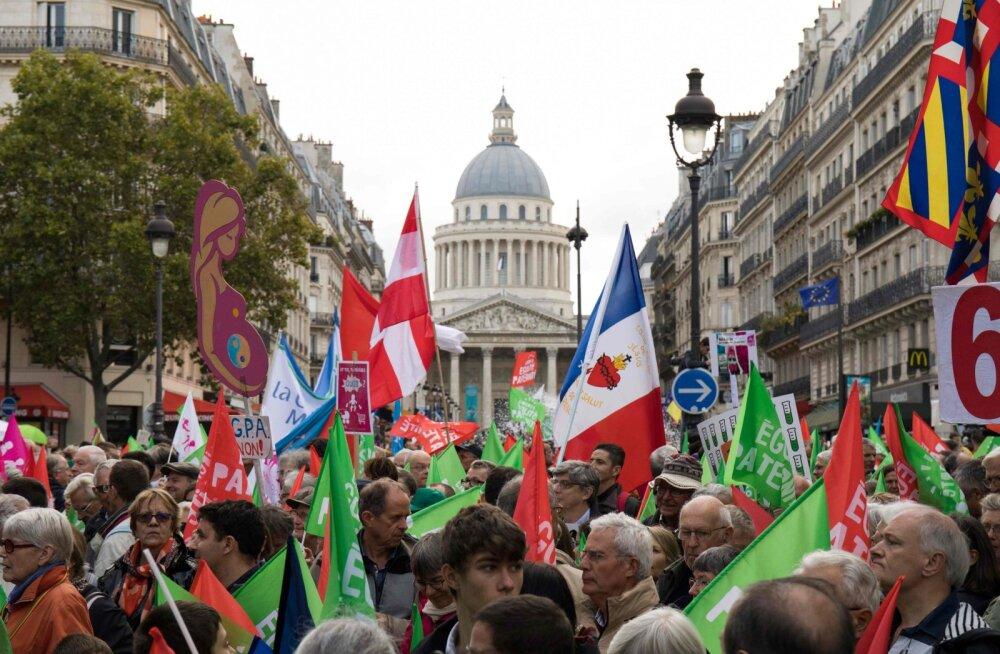 В Париже протестовали против закона об искусственном оплодотворении