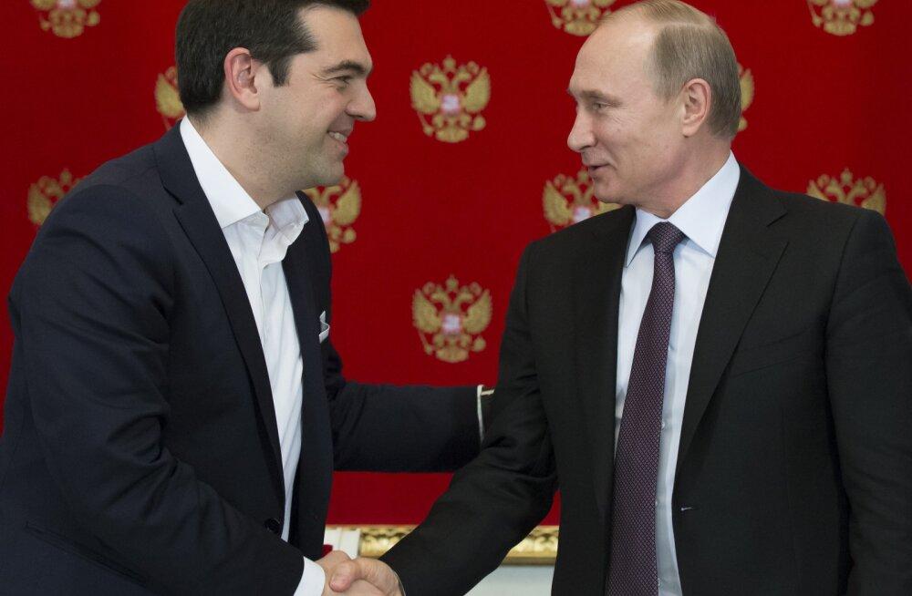 Kreeka peaminister: Venemaa sanktsioonid kuulutavad Euroopas majandussõda