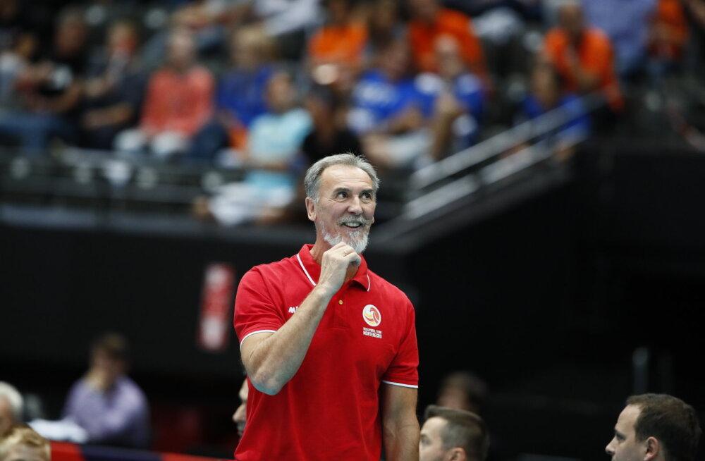 DELFI ROTTERDAMIS | Ühel päeval katastroof, teisel paradiis – ülirõõmus ja uhke Montenegro treener rääkis, mis tõi Eesti vastu edu