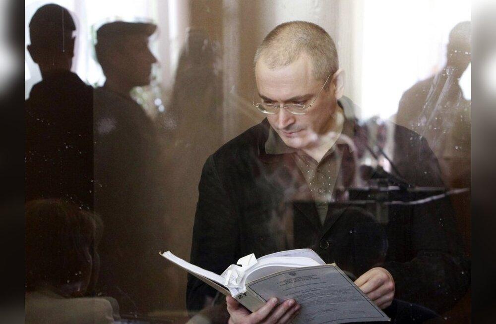 Hodorkovski abikaasa usub mehe jäämist vanglasse 2012. aastani