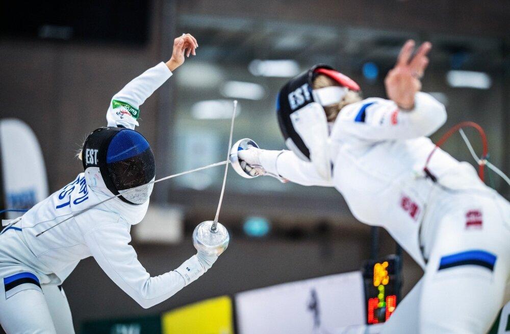 Peale rajal toimuvate heitluste käib Eesti vehklemises üksteise torkamine ka väljaspool võistlusi.