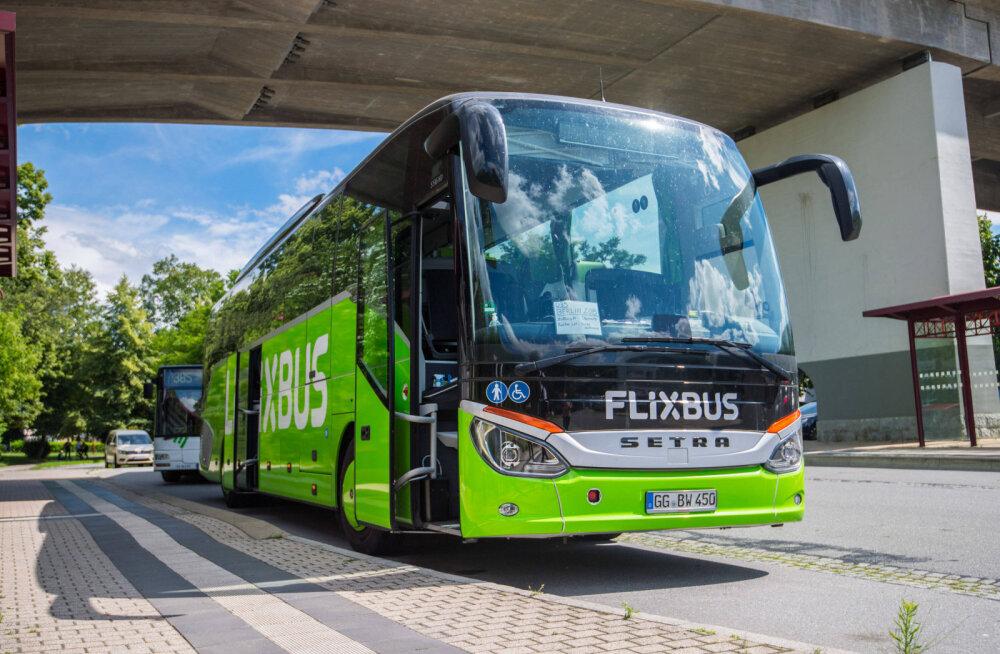 FlixBus запускает новые рейсы из Таллинна. Стоимость билетов начинается от 4,99 евро!