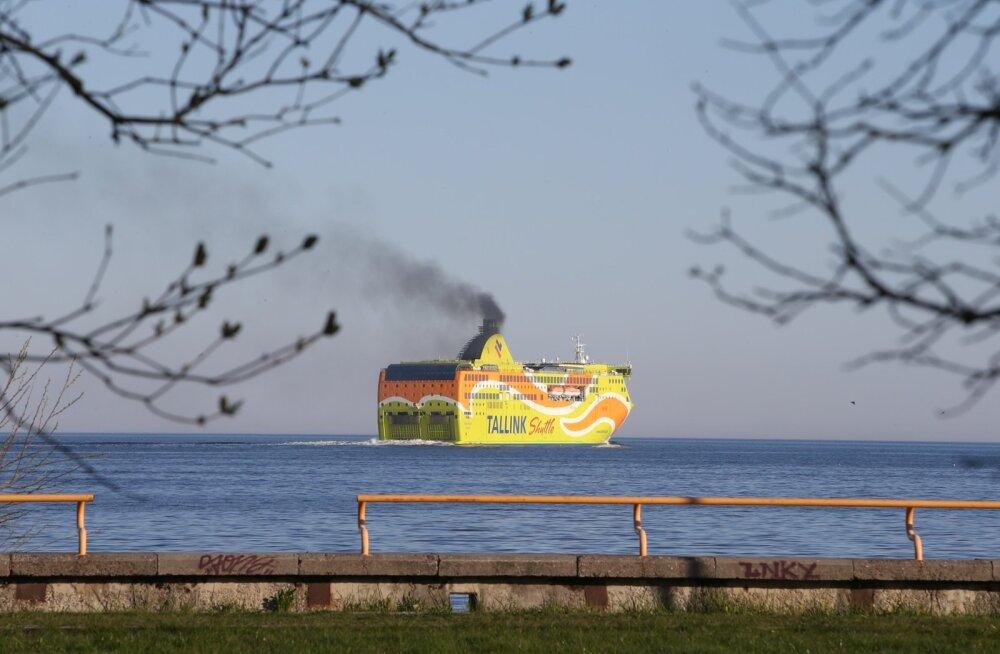 Tallinki reisijate arv vähenes neljandas kvartalis