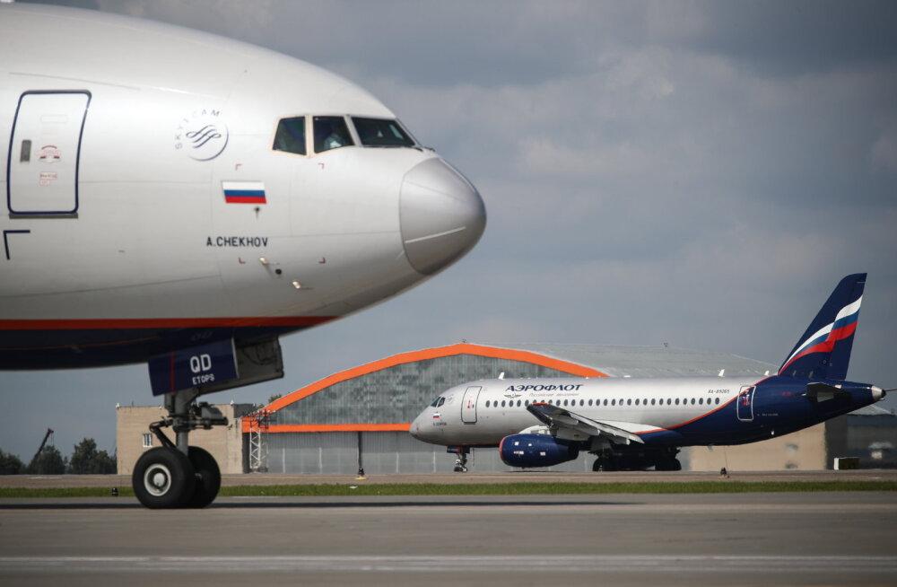 Aerofloti reisilennuki piloot, kes lennu ajal elu jättis, sai infarkti