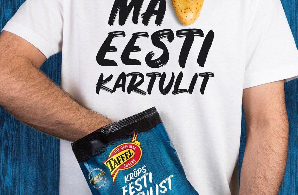 Taffel hakkas kartulikrõpse Eesti kartulitest valmistama
