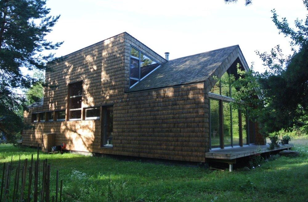 Aasta puitehitis 2015 žürii poolt ära märgitud suvila Lääne-Virumaal