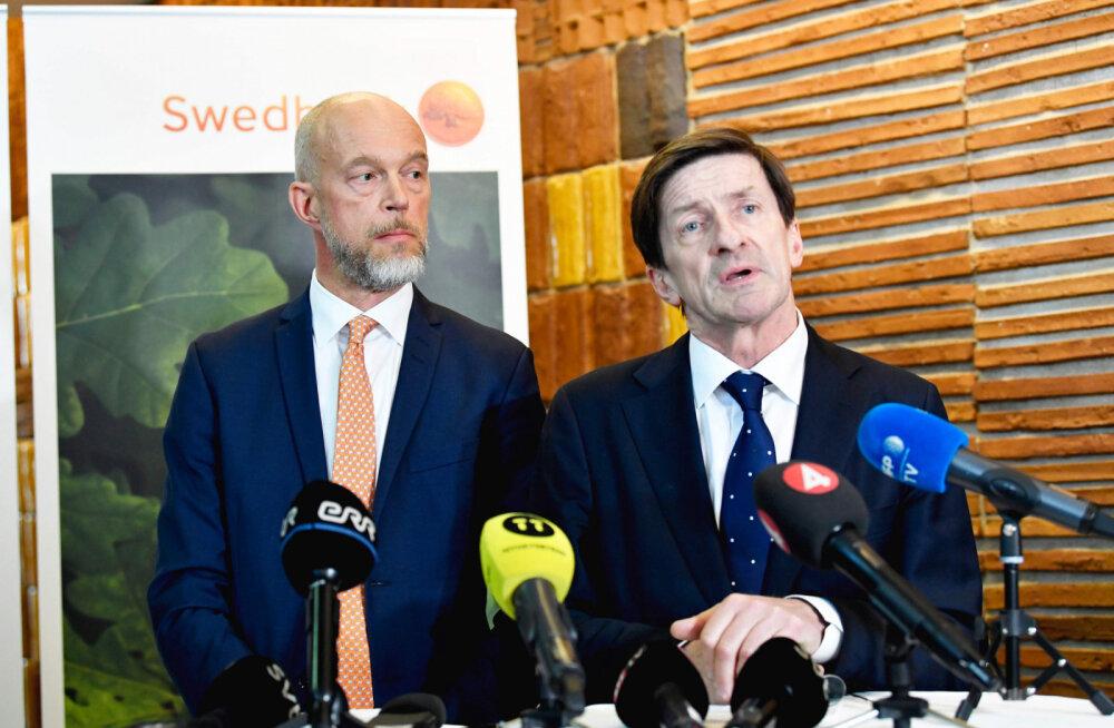 Председатель совета Swedbank со дня покинул свой пост