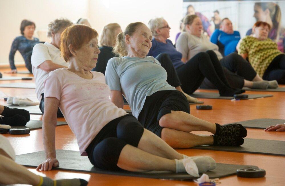 Võimlemine ja üldiselt spordi tegemine aitab seljaprobleemide teket ennetada.
