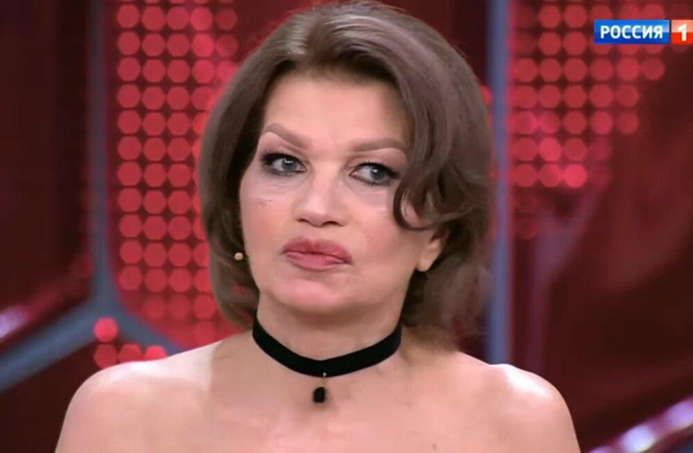 ФОТО-ШОК: Жена Гогена Солнцева впервые вышла в свет после пластической операции