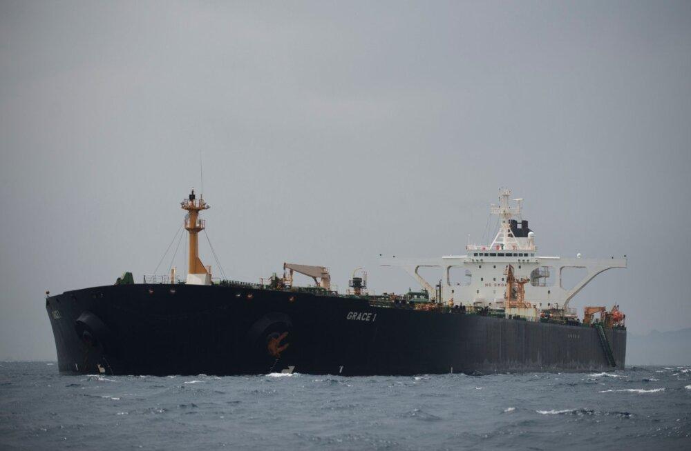 Iraan nõudis Suurbritannialt hõivatud naftatankeri viivitamatut vabastamist