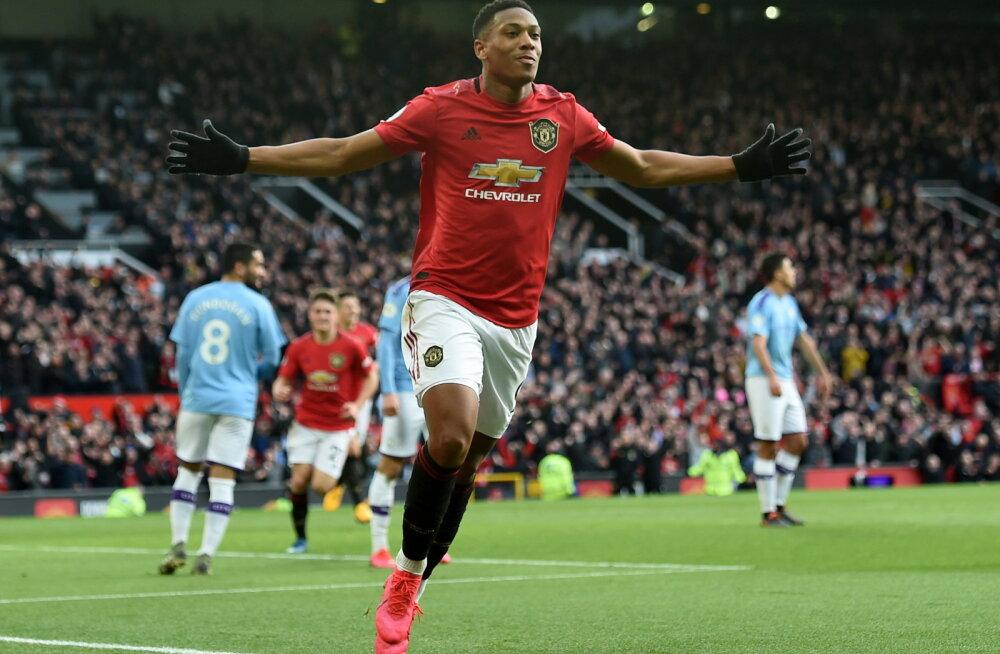 Manchester United üllatas linnarivaali Cityt ja tegi Liverpoolile teene