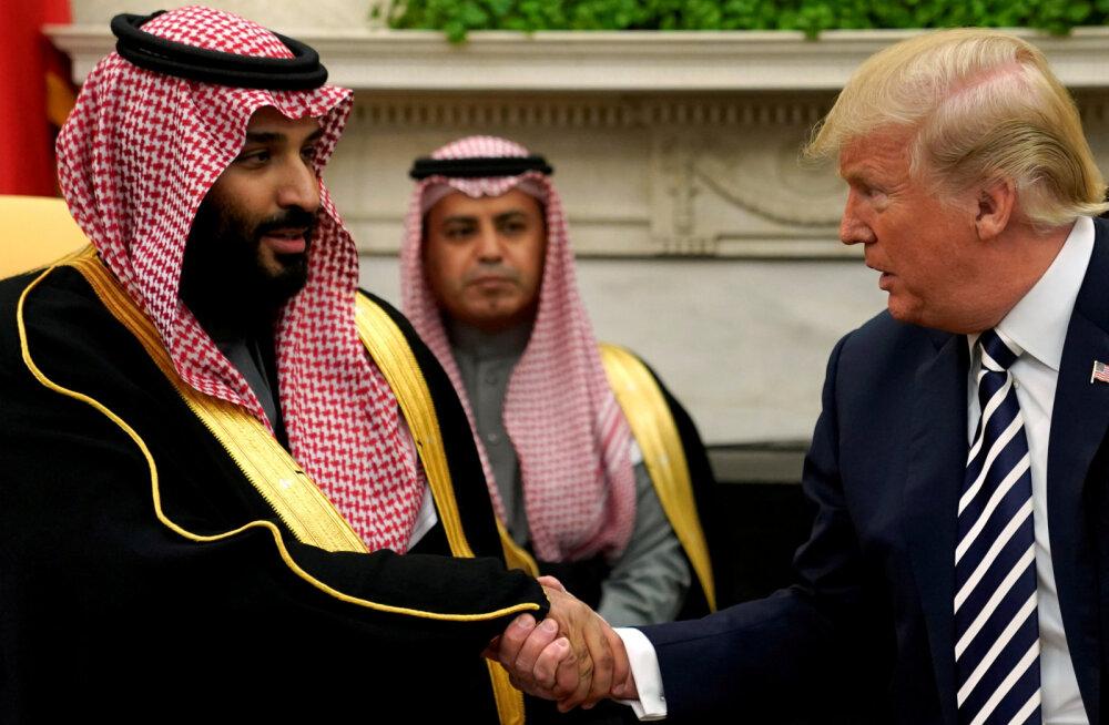 Trump: saudide prints pole kellegi meelest ajakirjaniku tapmise taga