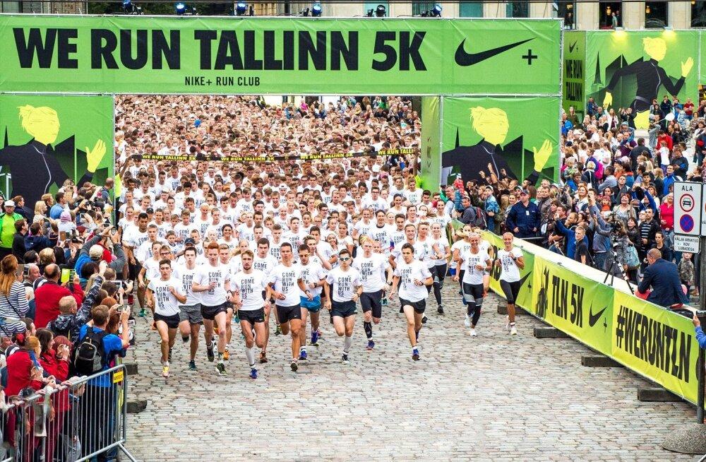Rekordilist osavõttu tõotav Nike Noortejooks kutsub kooliaastat sportlikult alustama