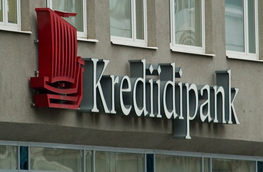 Krediidipank повысил процентные ставки по срочным вкладам до 2%