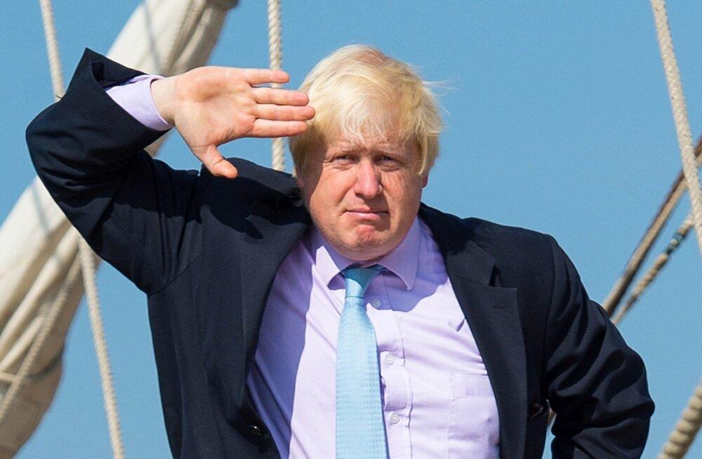 Boris Johnsonile Briti valitsusjuhi kurss ei meeldinud ja ta astus Theresa May juhitavast laevast maha.