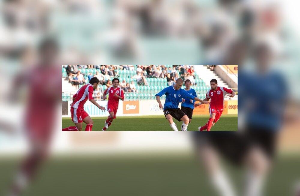 Eesti jalgpall, U21