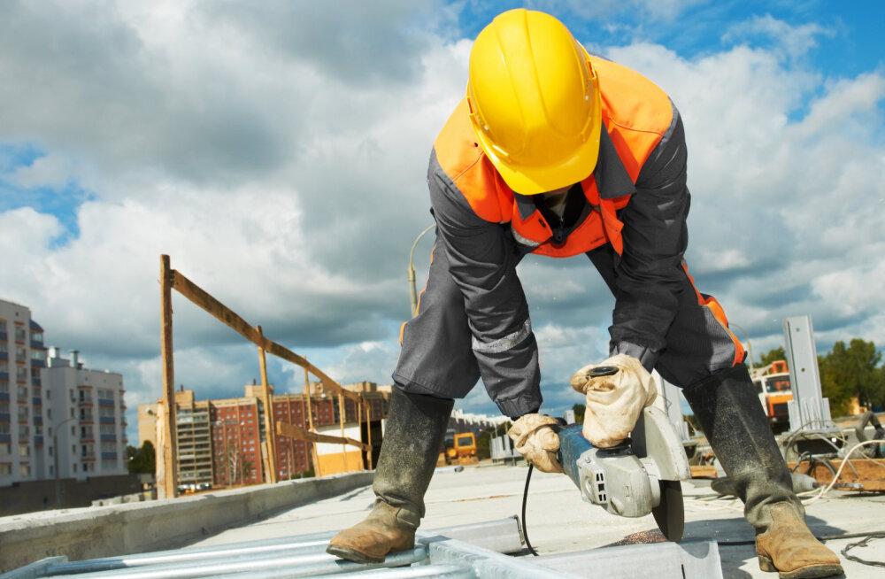 Ehitushinnaindeks pöördus tõusule. Kallinesid materjalid ja tööjõud