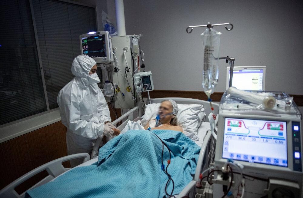 Учёные: подключенные к ИВЛ пожилые пациенты с COVID-19 обычно не выживают