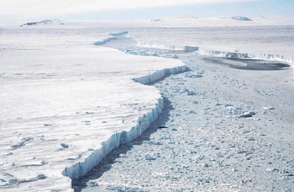 Hea uudis? Antarktika suurim liustik sulab aeglasemalt, kui kardeti