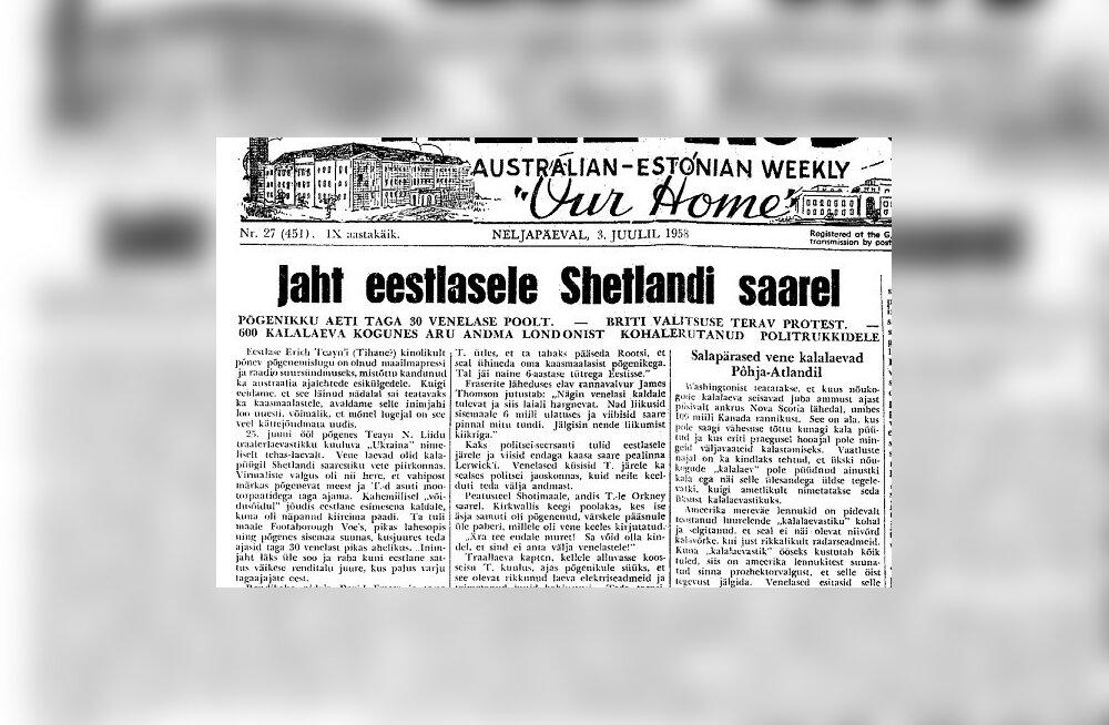 Eestlane, keda taga ajades tegid venelased dessandi Briti pinnale