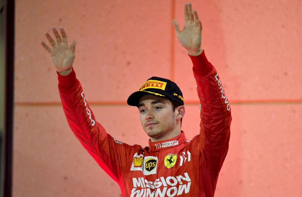 Venna jälgedes: Charles Leclerci noorem vend liitus Alfa Romeo F1 tiimiga