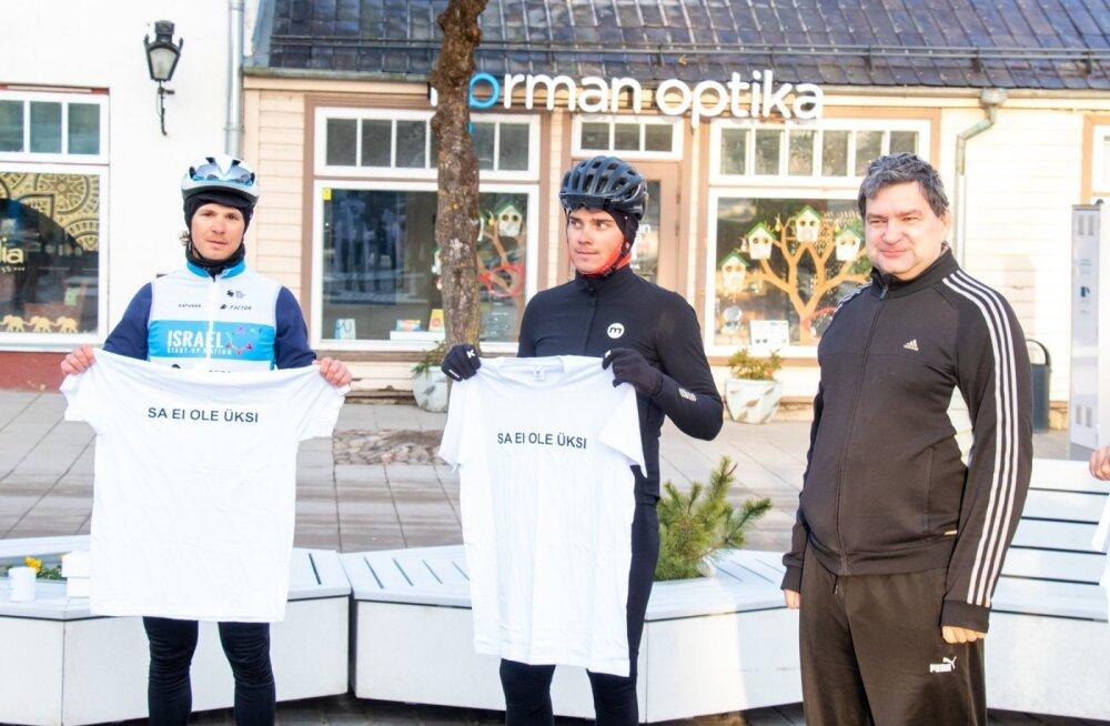 Heategevuslik rattasõit Kuressaare haigla toetuseks