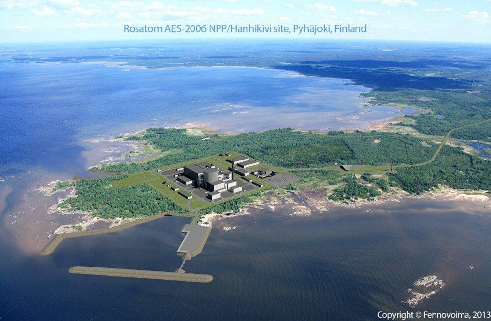 Soome-Vene tuumaelektrijaama valmimine lükkub nelja aasta võrra edasi