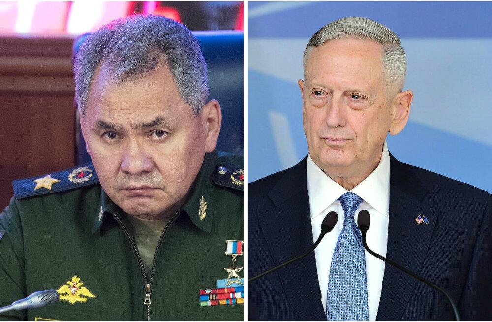Vene kaitseminister ootab selgitust USA kolleegi lubadusele rääkida Moskvaga jõupositsioonilt