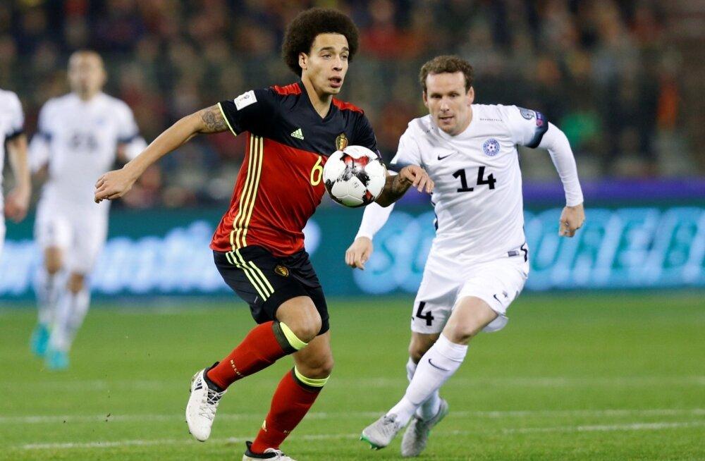 Belgia - Eesti jalgpalli valikmäng