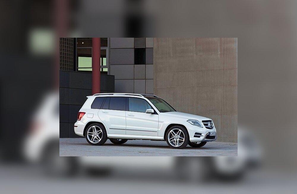 Mercedes-Benz GLK: kuldne keskiga