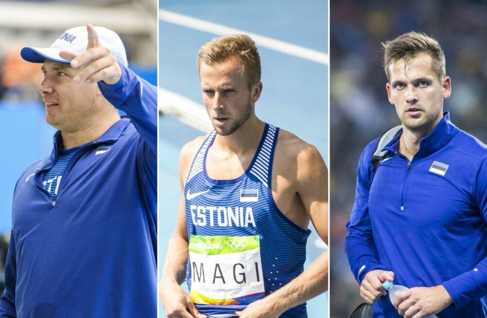 Gerd Kanter, Rasmus Mägi, Magnus Kirt