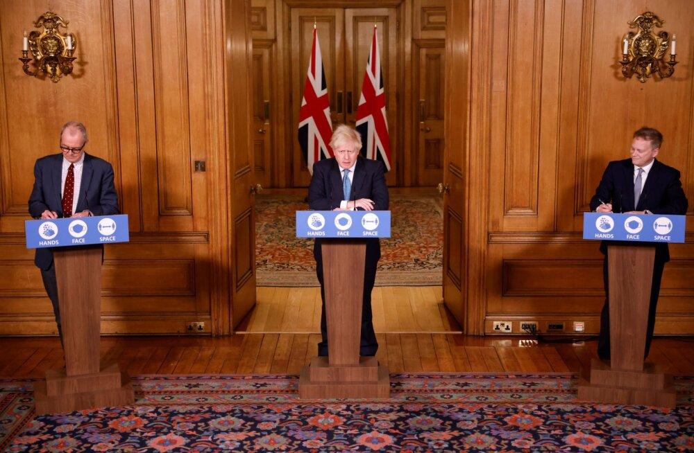 Briti valitsust nõustavad teadlased sooviksid koroonaviiruse uue tüve tõttu üleriiklikku lukustamist