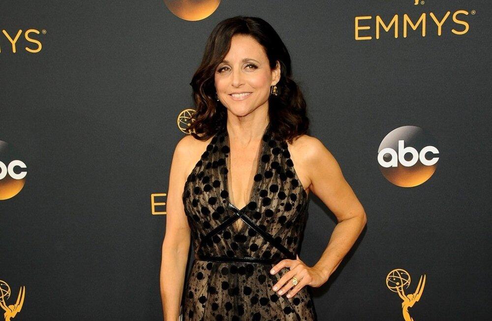 """Hittsarja """"Seinfeld"""" staar Julia Louis-Dreyfus põeb rinnavähki"""