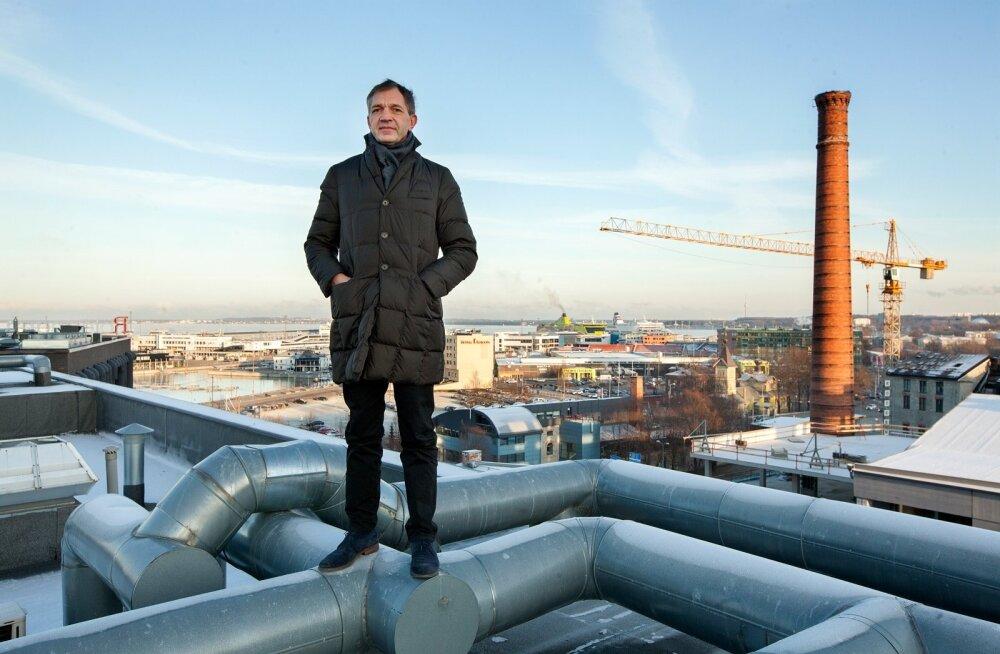 """""""Eesti peab paremini ära kasutama oma asukohta kaubateede ristmikul,"""" ütleb Urmas Sõõrumaa."""